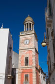 Clocktower. Noci. Puglia. Italy. — Photo