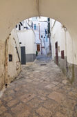 Alleyway. Noci. Puglia. Italy. — Stock Photo