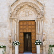 Basilica Cathedral of Conversano. Puglia. Italy. — Stock Photo