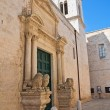 Church of St. Benedetto. Conversano. Puglia. Italy. — Stock Photo