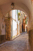 Alleyway. Conversano. Puglia. Italy. — Stock Photo