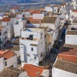 Panoramic view of Pisticci. Basilicata. Italy. — Stockfoto