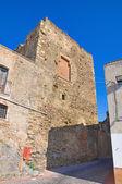Castle of Pisticci. Basilicata. Italy. — Stock Photo