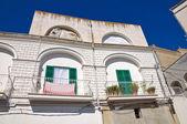 Historiskt palats. pisticci. basilicata. italien. — Stockfoto