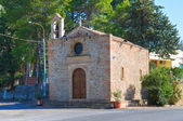 Church of St. Leonardo. Pisticci. Basilicata. Italy. — Stock Photo