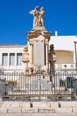 War memorial. Pisticci. Puglia. Italy. — Stock Photo