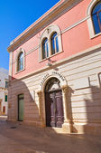 Town Hall Building. Noci. Puglia. Italy. — Stock Photo