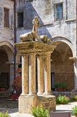 Church of St. Maria delle Grazie. Manduria. Puglia. Italy. — Stock Photo
