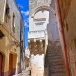 Stock Photo: Alleyway. Maruggio. Puglia. Italy.