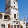 Stock Photo: Clocktower. FrancavillFontana. Puglia. Italy.