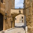 Stock Photo: Alleyway. Mesagne. Puglia. Italy.