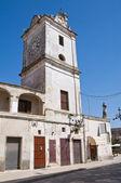 Torre dell'orologio. francavilla fontana. puglia. italia. — Foto Stock