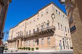 Imperiali-Filotico Palace. Manduria. Puglia. Italy. — Stock Photo