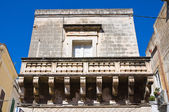 Historical Palace. Manduria. Puglia. Italy. — Stock Photo