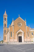 Church of St. Antonio. Manduria. Puglia. Italy. — Stock Photo