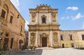 церковь святой анны. мезанье. апулия. италия. — Стоковое фото