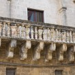 Historical palace. Mesagne. Puglia. Italy. — Stock Photo