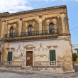 Historical palace. San Vito dei Normanni. Puglia. Italy. — Stock Photo