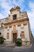 Church of St. Giovanni. San Vito dei Normanni. Puglia. Italy. — Stock Photo
