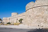 Angevine-Swabian Castle. Manfredonia. Puglia. Italy. — Stok fotoğraf