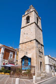 Clocktower. Manfredonia. Puglia. Italy. — Stock Photo