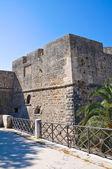 Neapel-schwabiska slottet. manfredonia. puglia. italien. — Stockfoto