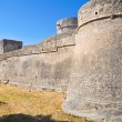 Angevine-Swabian Castle. Manfredonia. Puglia. Italy. — Stock Photo