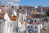 Panoramic view of Monte Sant'Angelo. Puglia. Italy. — Foto Stock