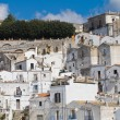 Panoramic view of Monte Sant'Angelo. Puglia. Italy. — Stock Photo #33156603