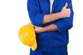 Blue collar worker. — Stock Photo