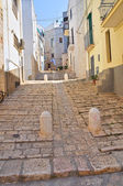 Alleyway. Conversano. Puglia. Italy. — Stock Photo