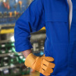 Blue collar worker. — Stock Photo #33757099