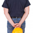 Blue collar worker. — Stock Photo #34775589