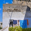 Panoramic view of Castro. Puglia. Italy. — Stock Photo