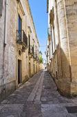 小巷。poggiardo。普利亚大区。意大利. — 图库照片