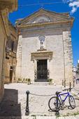 Iglesia de san francesco. poggiardo. puglia. italia. — Foto de Stock
