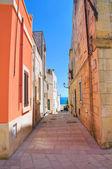 小巷。卡斯特罗。普利亚大区。意大利. — 图库照片