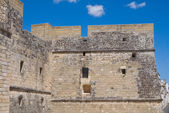 Castle of Castro. Puglia. Italy. — Stock Photo