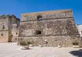 Castelo de castro. puglia. itália. — Fotografia Stock