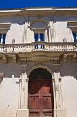 Palacio histórico. maglie. puglia. italia. — Foto de Stock