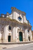 Maglie 的大教堂。普利亚大区。意大利. — 图库照片
