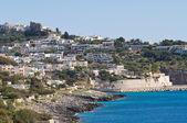 Panoramic view of Castro. Puglia. Italy. — Stock Photo