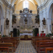 Church of Carmine. Presicce. Puglia. Italy. — Stock Photo