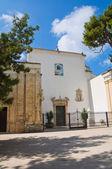 Iglesia de la madonna della libera. rodi garganico. puglia. italia. — Foto de Stock