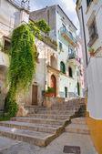 Alleyway. Rodi Garganico. Puglia. Italy. — Stock Photo