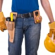 Foto Stock: Blue collar worker.
