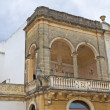Historical palace. Presicce. Puglia. Italy. — Stock Photo