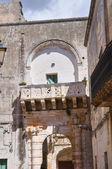 Soronzi palace. Presicce. Puglia. Italy. — Stock Photo