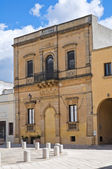 Historical palace. Presicce. Puglia. Italy. — Stock fotografie