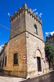 Arditi slott. Presicce. Puglia. Italien. — Stockfoto